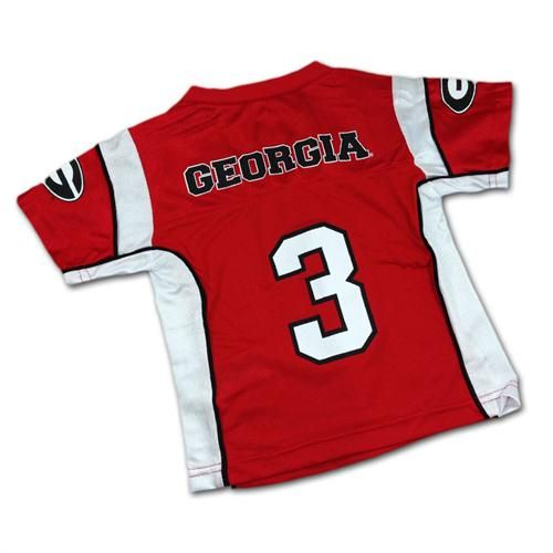 super popular c77d8 451c4 Georgia Infant/Toddler Jersey | Georgia Bulldogs Baby ...