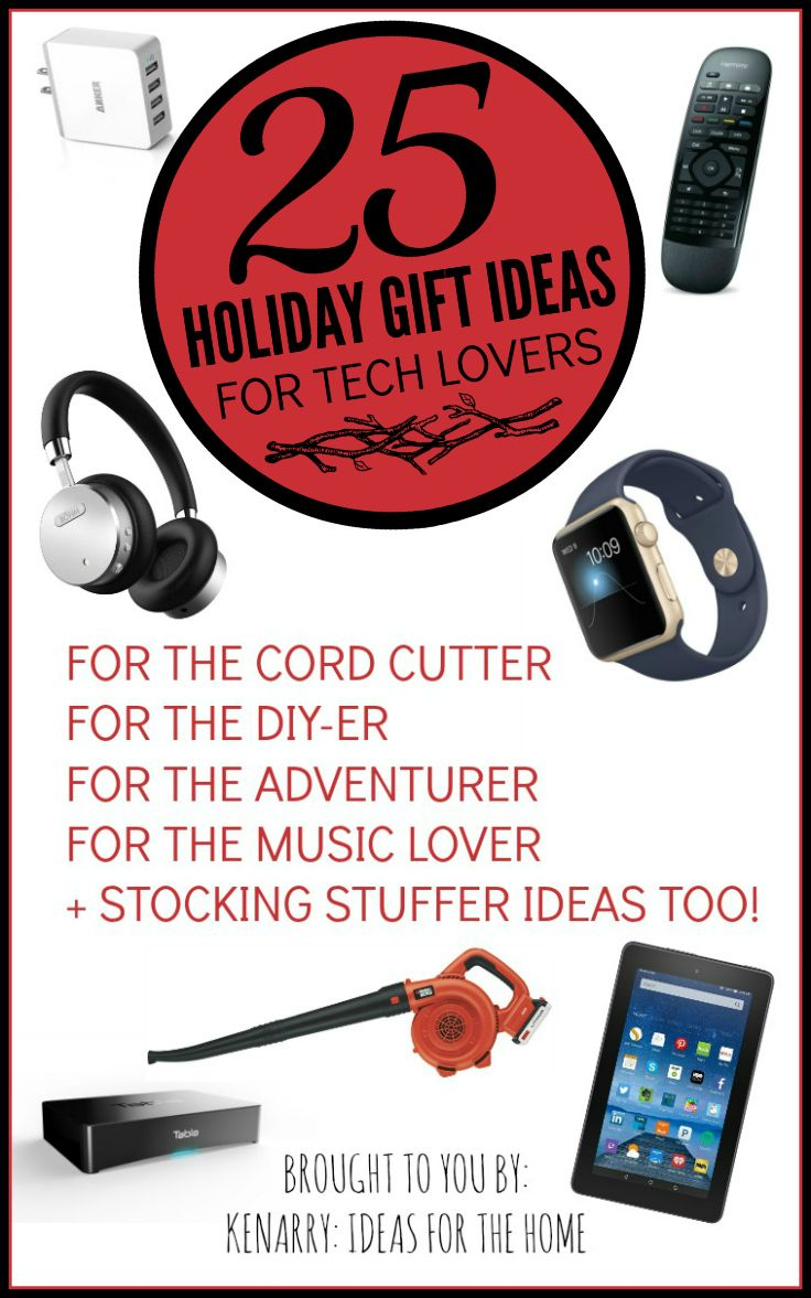 25 holiday gift ideas for tech lovers | pinterest | cord, lovers and