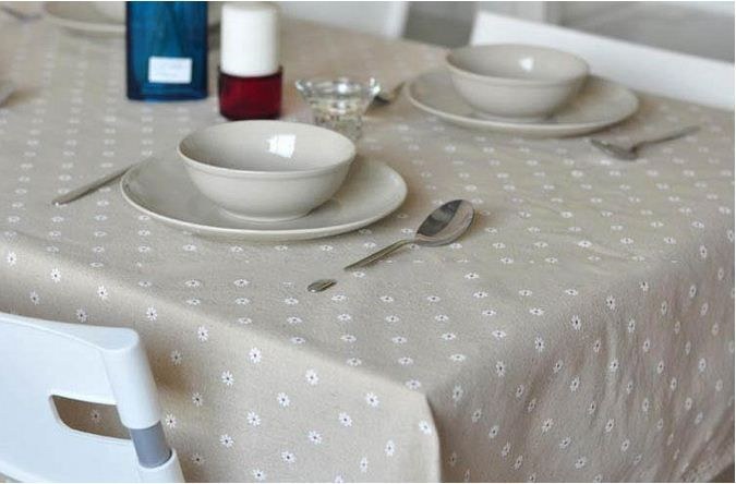 3 Styles Lace Linen Table Cloth Flower Cherry Country Style Multifunctional  Tablecloths Table Cover Free Shipping