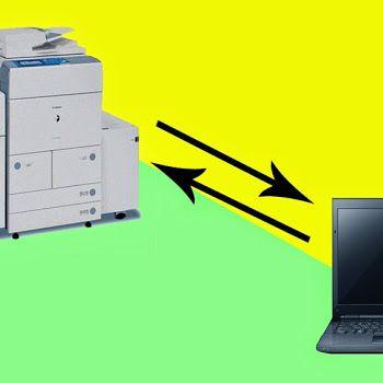 Cara Menghubungkan Mesin Photo Copy Dengan Komputer