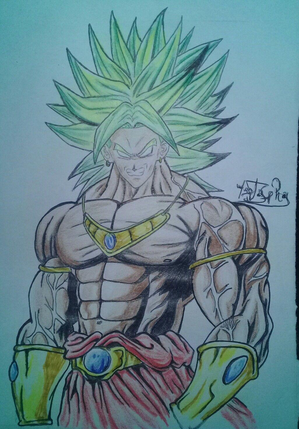 Broly Fanart Draw Drawings Sage Sagemode Pride