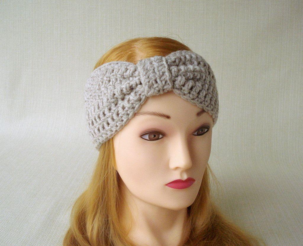 Ear warmer  Head band Homemade  Crochet