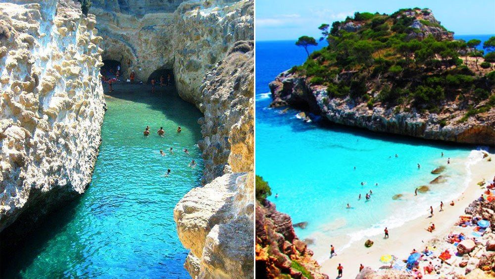 Calo Des Moro Beach Has Become Por Once The Tourists From Diffe Countries To Enjoy Summer Holidays Which Are Very Beautiful