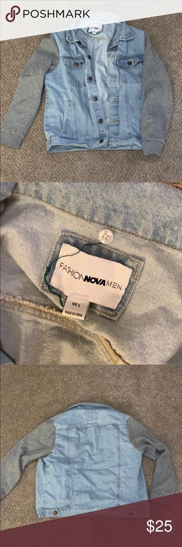 Men S Fashionnova Denim Jacket Denim Jacket Fashion Denim Jacket Jacket Style [ 1740 x 580 Pixel ]
