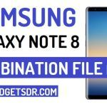 Download Samsung Galaxy Note 8 Combination File Rom