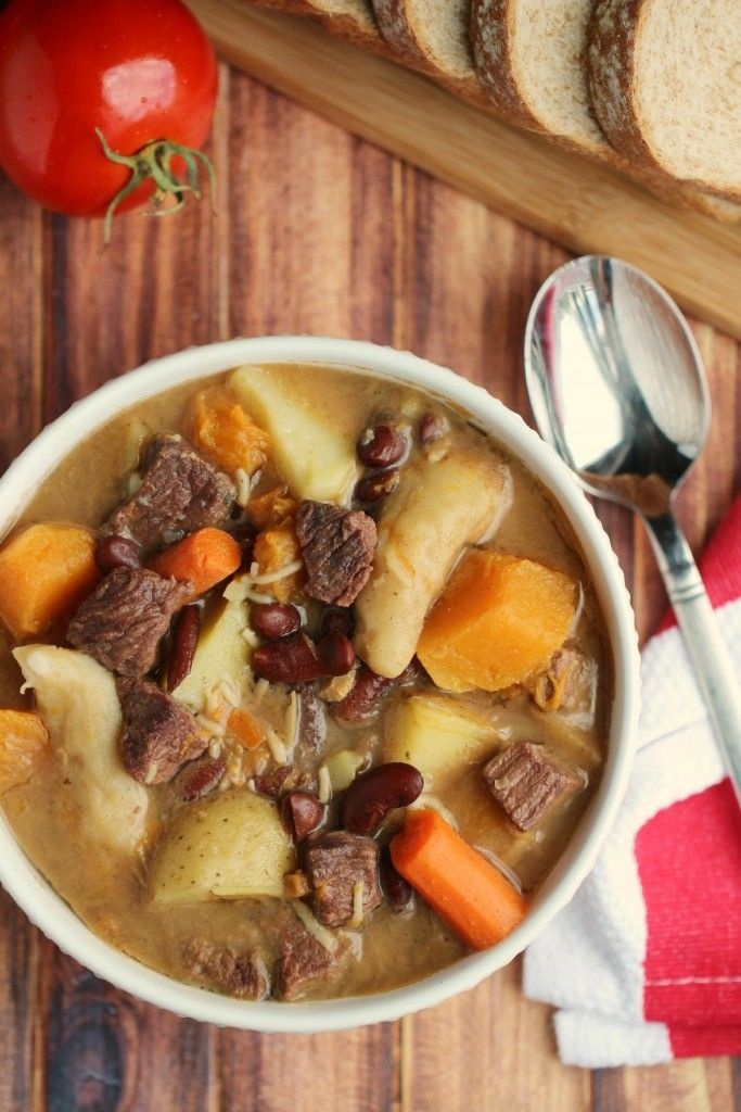 jamaican pumpkin beef soup  recipe with images
