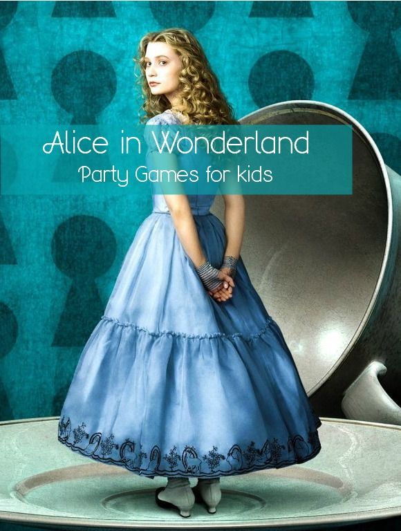Alice In Wonderland Party Games For Kids My Kids Guide Filme