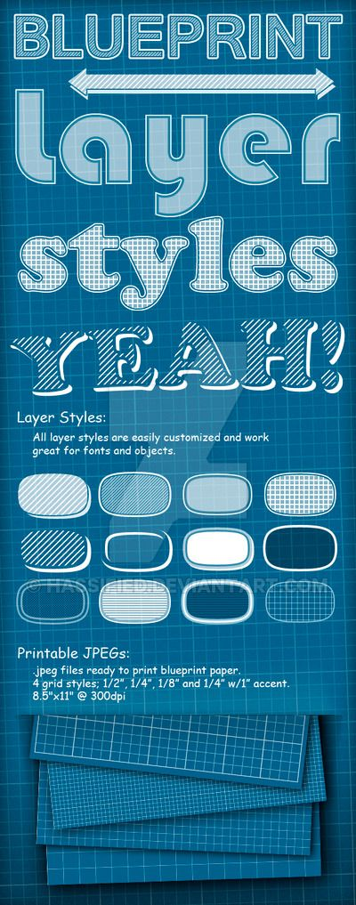 Blueprint styles by hassifiediantart on deviantart blueprint styles malvernweather Choice Image