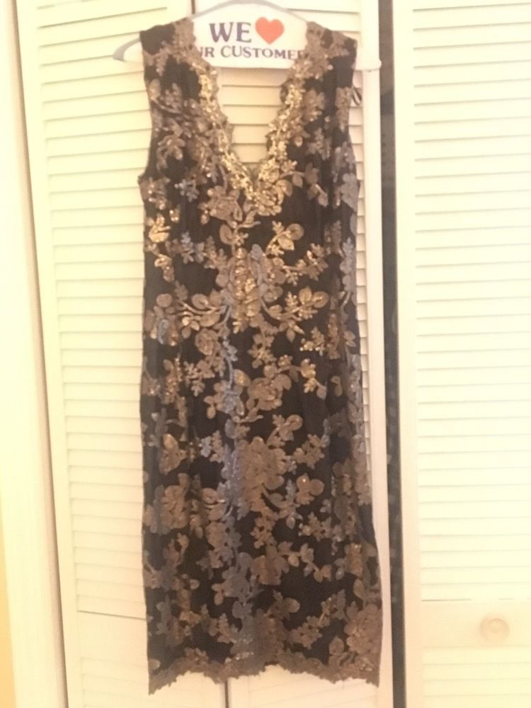 a895ed1a10d98 tadashi shoji cocktail dress size 6. Excellent condition!  fashion  clothing   shoes  accessories  womensclothing  dresses (ebay link)