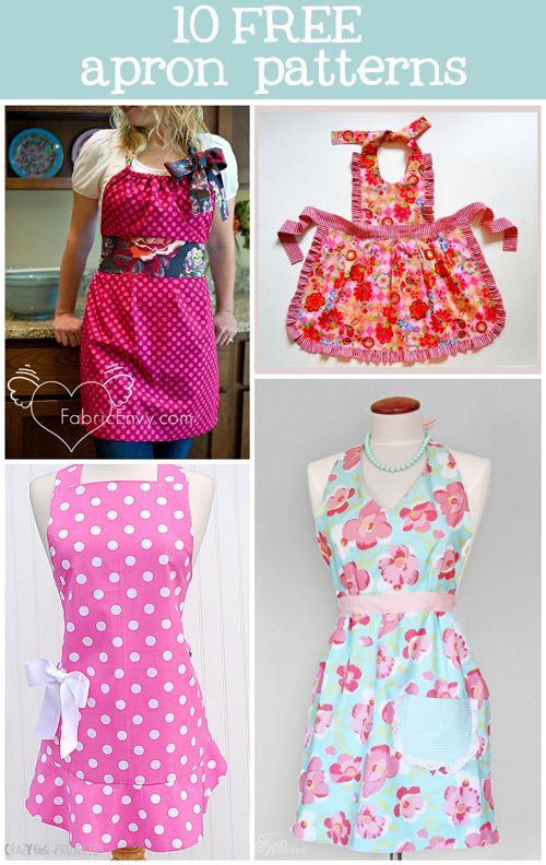 10 free apron patterns sewing tutorials inspiration sewing rh pinterest com