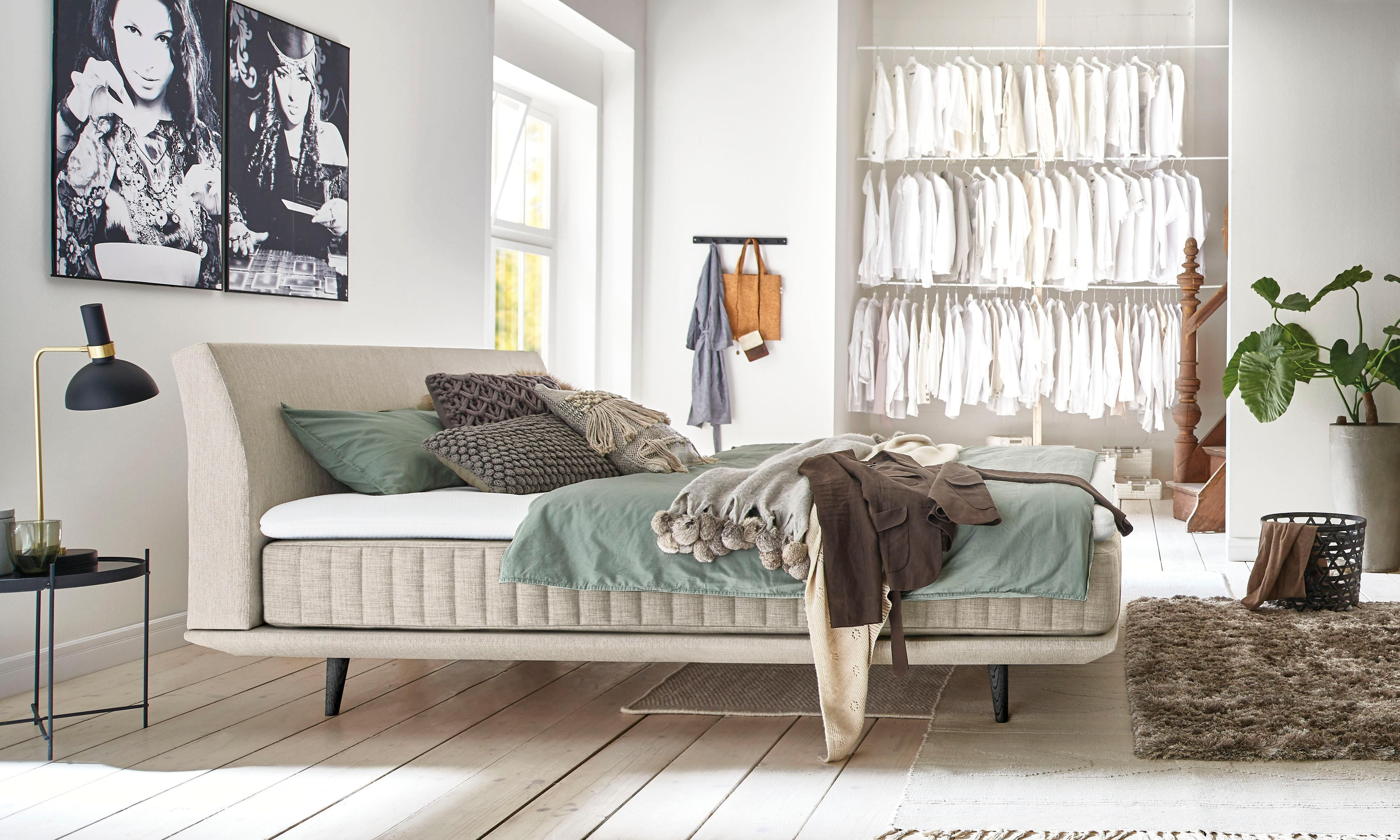 Betten Mit Stauraum Selber Bauen Futonbett Mit Matratze 120x200
