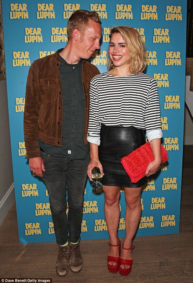 Billie Piper attends showing of Dear Lupin with husband