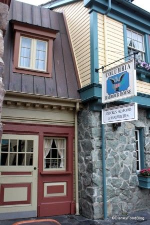 Columbia Harbour house - Liberty Square in Disney's Magic Kingdom  GREAT Counter Service!