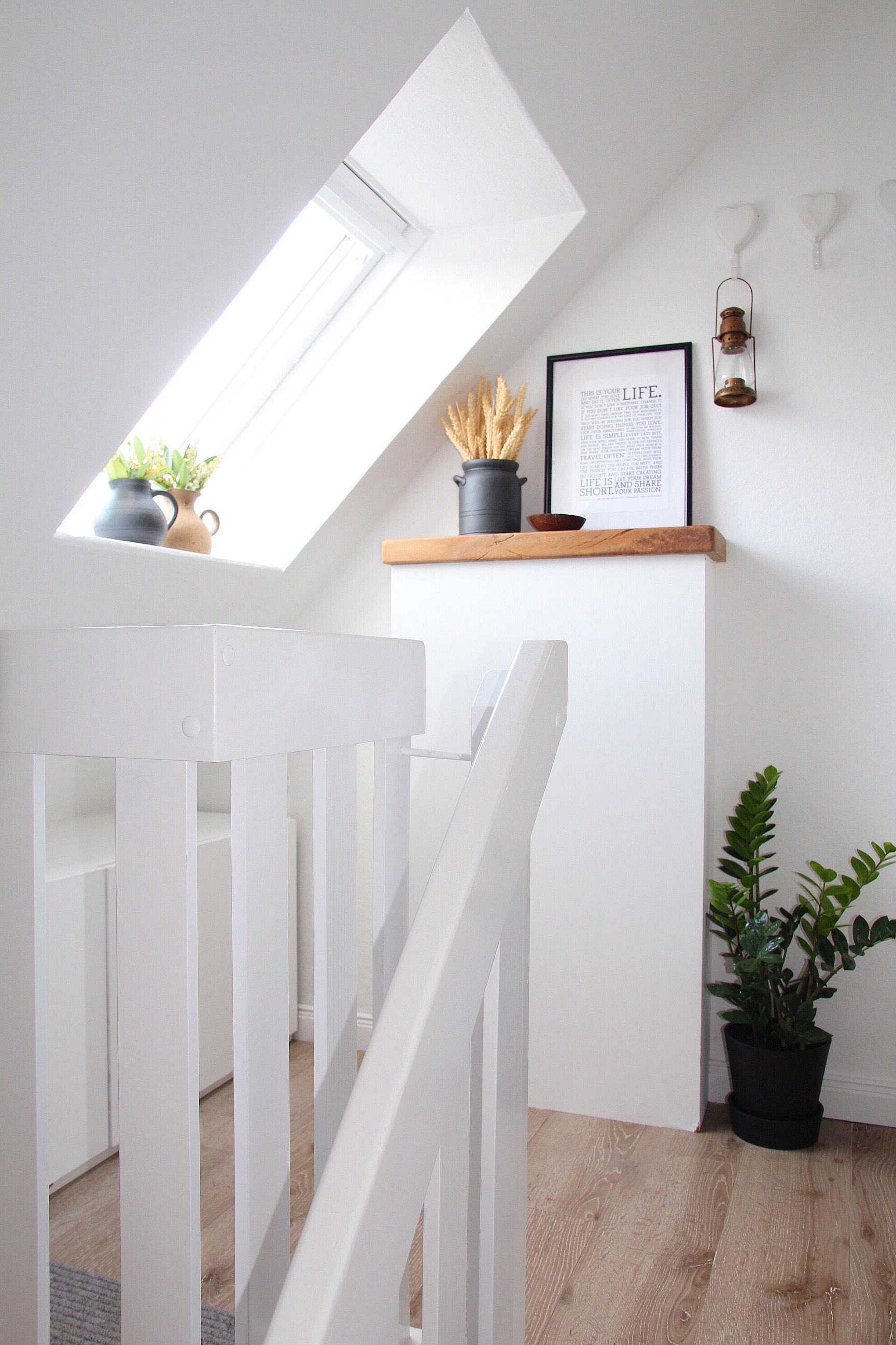 Flur und treppenhaus neu gestalten vorher nachher for Wohnung modern gestalten