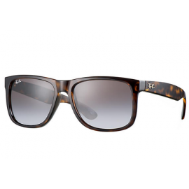 c86dc4fb62 ... czech ray ban rb4165 justin collection sunglasses tortoise frame brown  violet gradient mirror lens 8a324 0a5bf