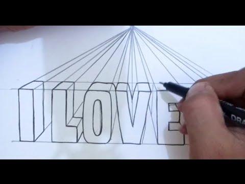 (244) Tutorial cara membuat tulisan 3D terlihat rapi I