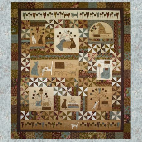 Quot A Kitten S Tale Quot Quilt Pattern Created By Lynette