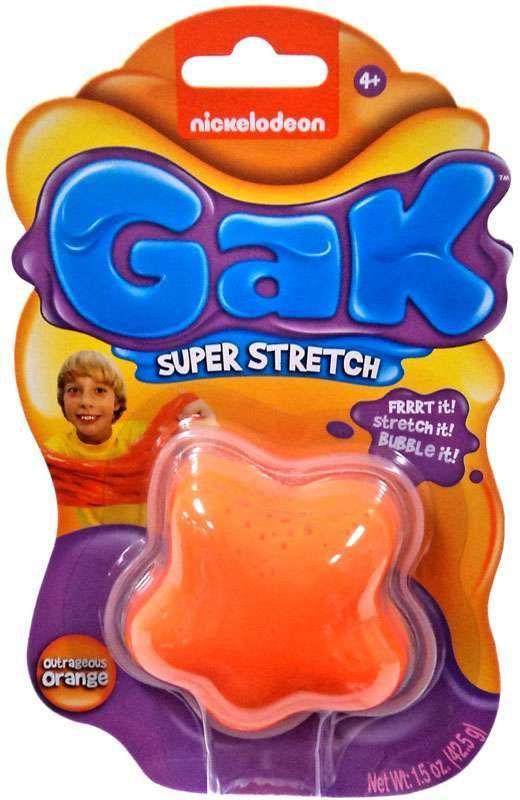 Nickelodeon Gak : nickelodeon, Nickelodeon, Super, Stretch, Outrageous, Orange, Nickelodeon,, Knack,