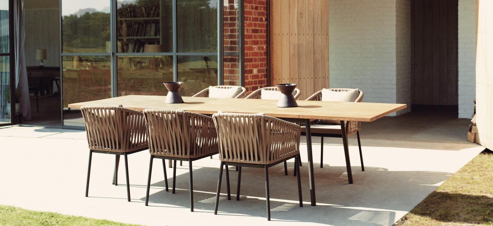 Comedor exterior | skf | Mobiliario terraza, Muebles de exterior y ...