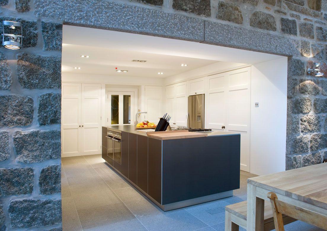 Prospect house extension and refurbishment - Bulthaup B3 island unit ...