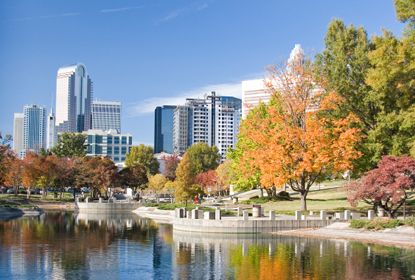 Charlotte NC is a beautiful little city to live in especially with children