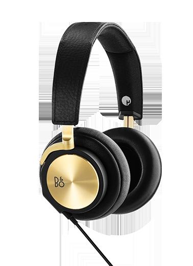 Emporio Armani Black Headphones