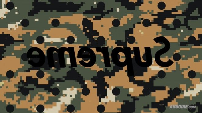 Supreme Camo Wallpaper Digi Desktop