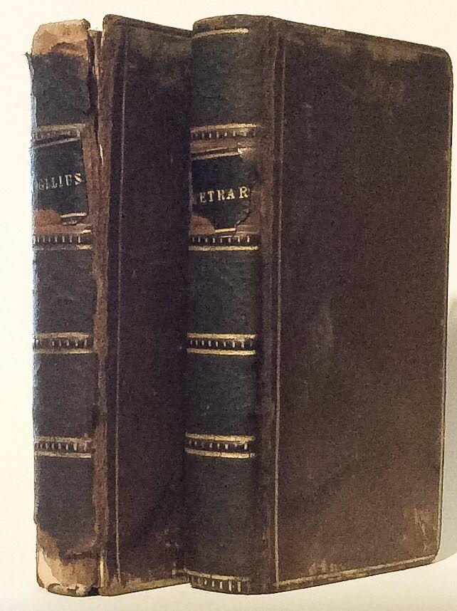 Le Rime Del Petrarca and Publius Virgilius Maro, 1821, Londra, G. Pickering, Lincolns Inc.