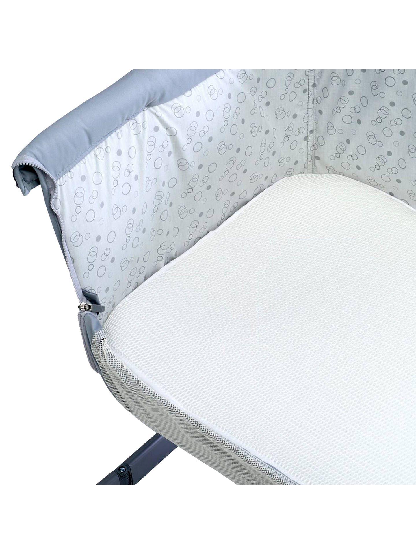 Chicco Night Breeze Bedside Crib Mattress Topper, White