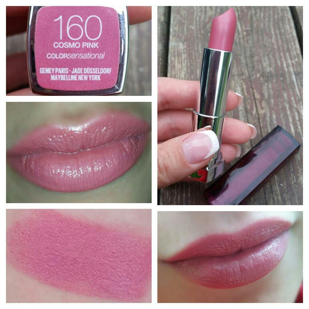 Мейбелин 160 cosmo pink bosch wor