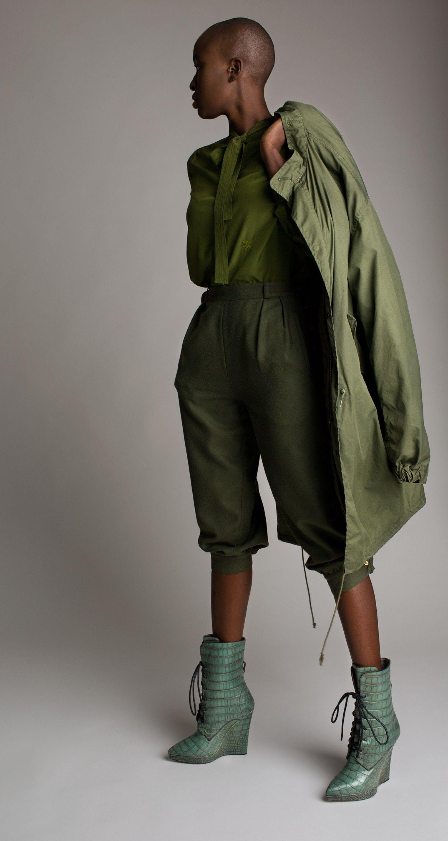 Vintage Military Surplus Parka Pants for women