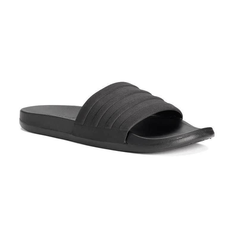 the best attitude b905e 73205 Adidas Adilette CF Mono Men s Slide Sandals, Size  10, Black