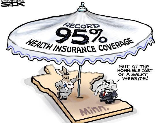 Sack Cartoon The Health Insurance Umbrella Umbrella Insurance