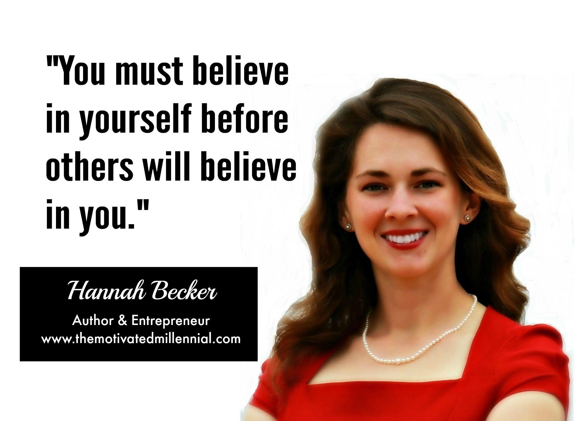 #believe #you #entrepreneur