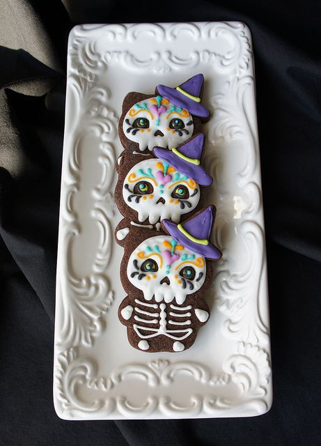 Most creative use of HK cutter! Skull cookies by Marlyn B of Montreal Confections