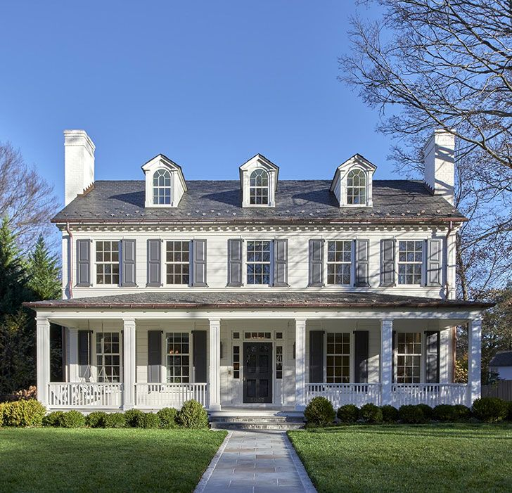 Colonial Contemporary Washington House