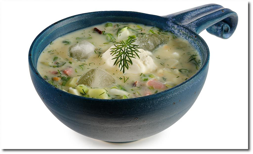 Okroschka kalte Suppe Rezept