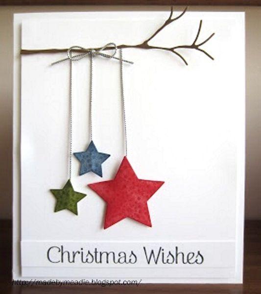 Die besten 25 beste weihnachtskarten ideen auf pinterest weihnachtskarte gr e silhouette - Pinterest weihnachtskarten ...
