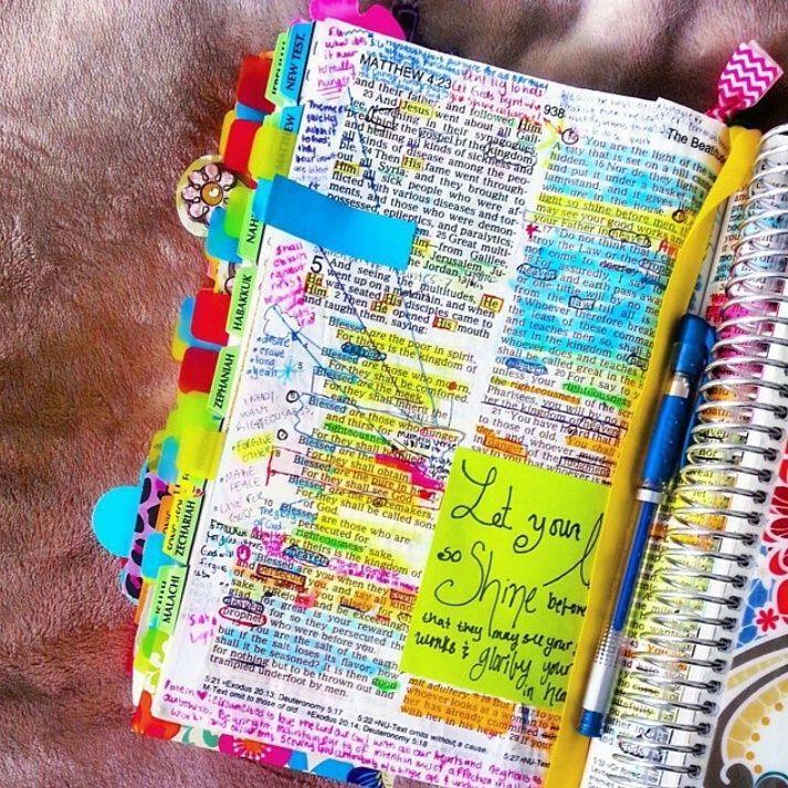 Bible Marking Journal Qanda Christian Highlights