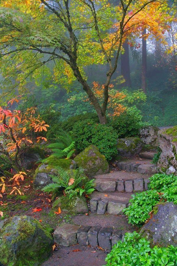 Gartendesign Mit Wendeltreppe Aus Stein | Gartengestaltung ... Grundprinzipien Des Gartendesigns
