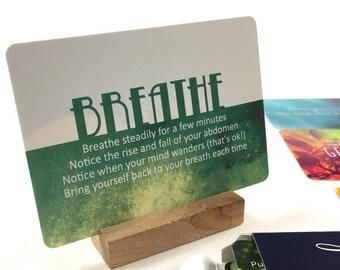 Unique baby shower gifts Mindfulness card deck new parent gifts mindfulness exercise cards ne...