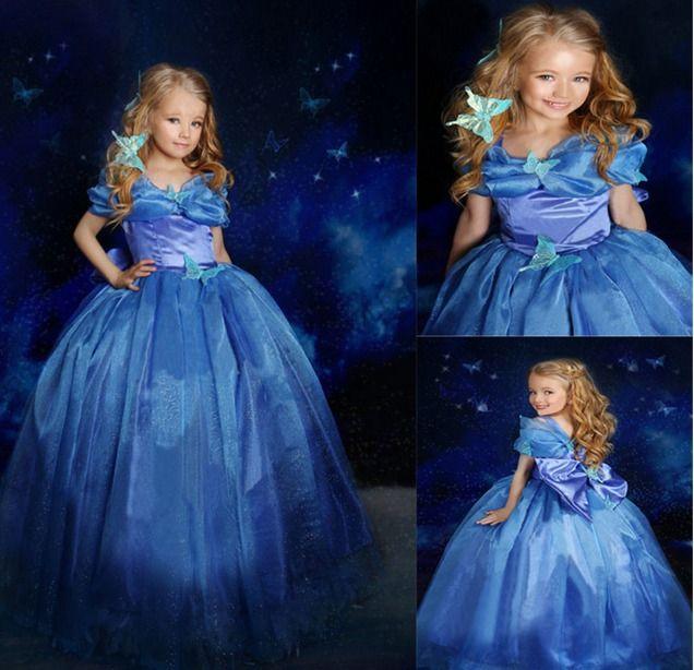 0f83f9606d Cinderela Vestido Infantil Fantasia Roupa Festa Criança - R$ 98,90 no  MercadoLivre