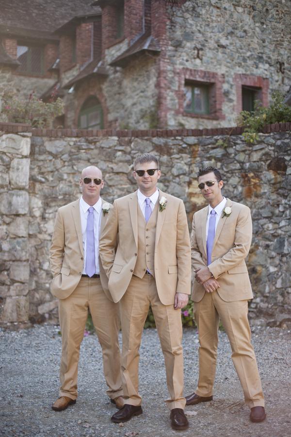 Purple, Taupe, and Lace Wedding | Weddings, Wedding and Beige wedding