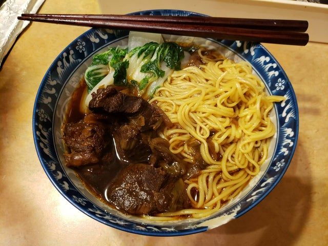 Homemade Taiwanese Beef Noodle Soup - food in 2020 (With ...