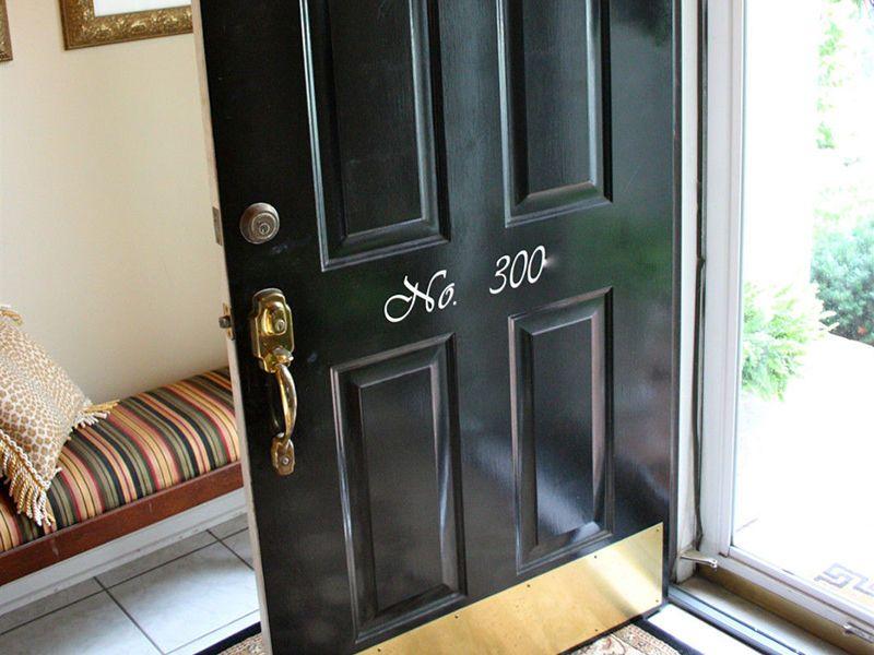 How To Clean Brass Kick Plate On Door Doors Pinterest Cleaning