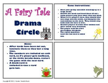 drama circle a fairy tale edu lang arts ccss speaking and listening 1st grade drama. Black Bedroom Furniture Sets. Home Design Ideas
