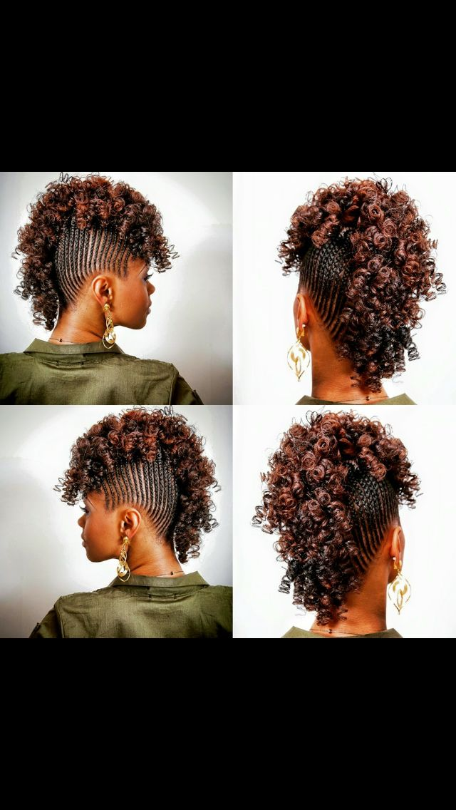 Cornrow Mohawk With Images Braided Mohawk Hairstyles Cornrow