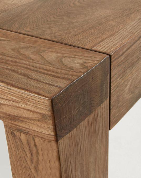 Mesa extensible Briva 200 (280) x 100 cm natural | Kave Home