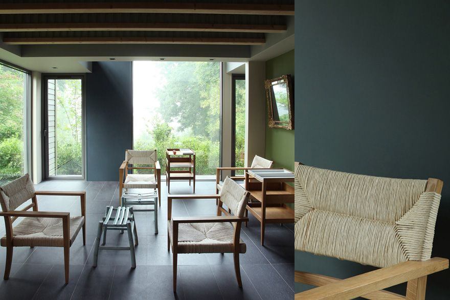 abysse peinture murs bleu ressource murs pinterest. Black Bedroom Furniture Sets. Home Design Ideas