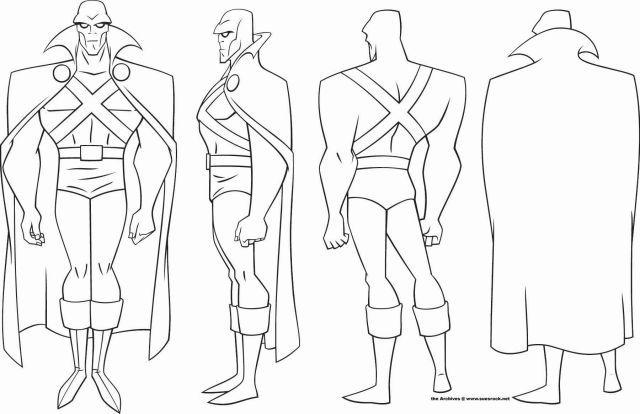 art team go justice league turnaround and model sheets justice